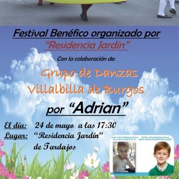 "Festival Benéfico ""Por ADRIAN"" organizado por ""Residencia Jardín"" (24 de mayo de 2015)"