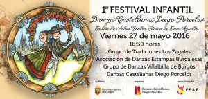 1 Festival Infantil de Danzas Castellanas Diego Porcelos