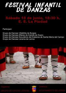 Festival Infantil de Danzas - Lerma (18/06/2016)