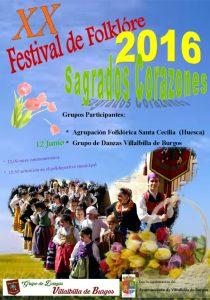 Festival de Folclore Sagrados Corazones 2016