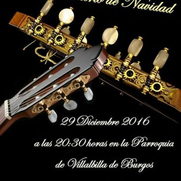 Rondalla – Concierto de Navidad 2016 (29-12-2016)