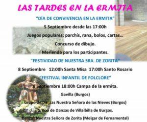 Festival Infantil de Danzas en Melgar de Fernamental