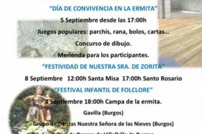 Festival Infantil de Folclore en Melgar de Fernamental – 8 de septiembre de 2017