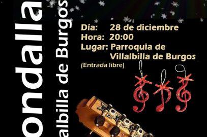 Rondalla – Concierto de Navidad 2017 (28-12-2017)