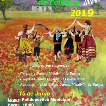 Festival Infantil «Los Sagrados Corazones» 2019 en Villalbilla de Burgos